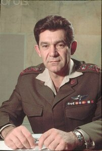 1971 --- Elazar was the Israeli Chief of Staff during the Yom Kippur War. --- Image by © David Rubinger/CORBIS
