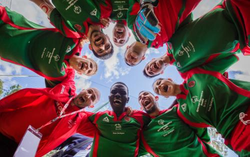 Атлеты Специальной Олимпиады России выступят флагоносцами в полуфиналах и матче за 3-е место на Кубке конфедераций FIFA 2017
