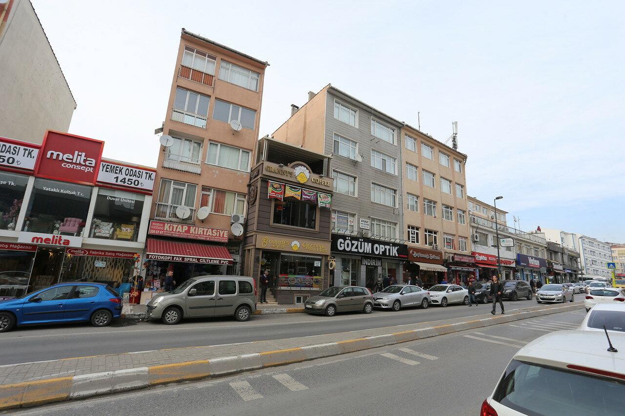 Стамбул, Ускюдар. Улица Селмани Пак (Selmani Pak Caddesi)