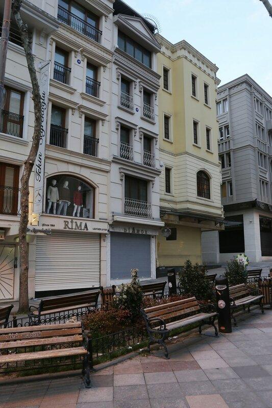 Вечерний Стамбул. Бульвар Нуросмание (Nuruosmaniye Caddesi)