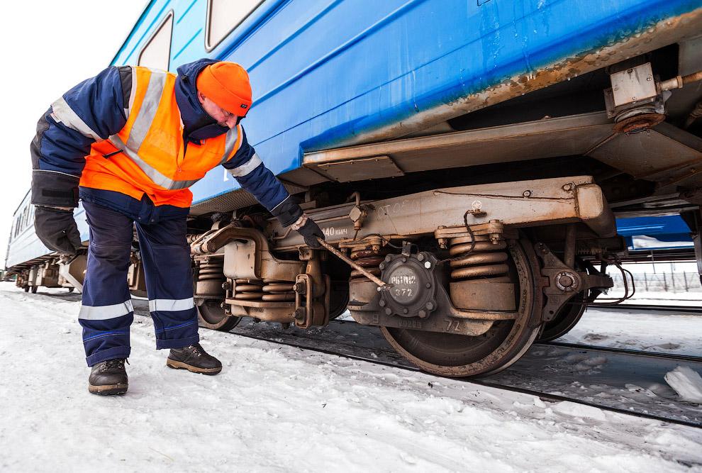 8. Дизель-генераторный вагон восстановительного поезда.
