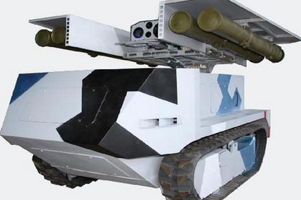 Беларусь показала противотанковый «Богомол» (1 фото)