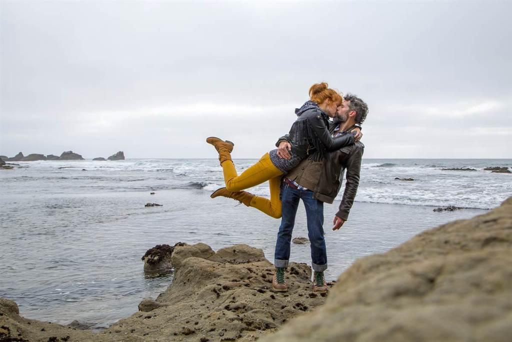 Путешествующий поцелуй (15 фото)