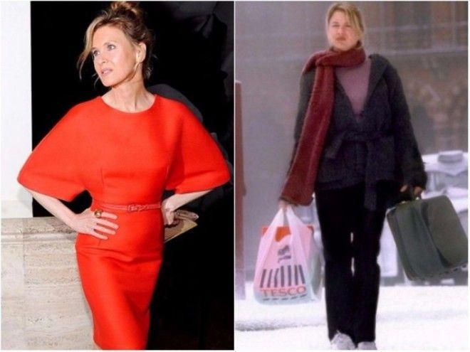 Для роли Бриджит Джонс актриса Рене Зеллвегер набрала больше 15 килограммов! Риск себя оправдал: кар