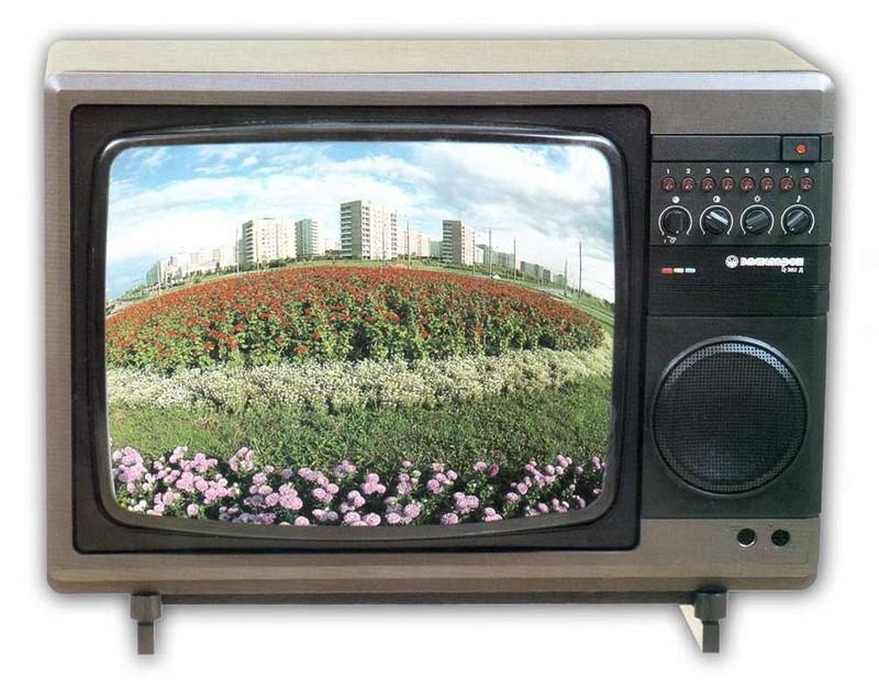 17. Еще одним легендарным производителем телевизоров в УССР был львовский завод «Электрон». В восьми
