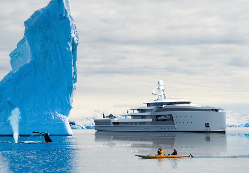 Голландцы построили яхту-ледокол класса люкс (15 фото)