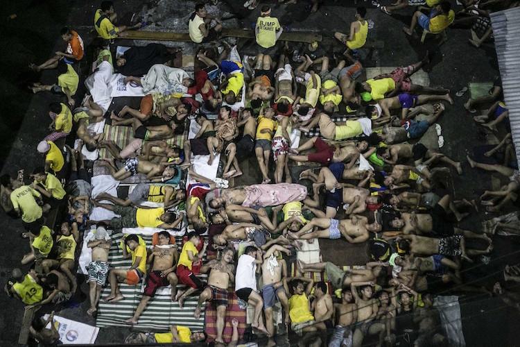 Категория «Фотожурналист». Фото: Linus Guardian Escandor II «Переполненная филиппинская тюрьма. Резу