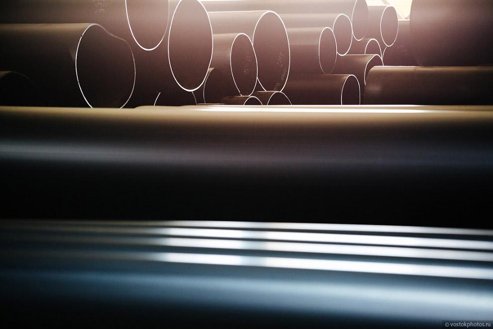 37. Так выглядят гранулы, из которых производится высококачественная полиэтиленовая оболочка. П