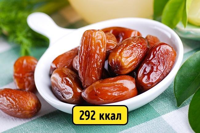 © depositphotos  Финики нетолько полезные, ноиочень сытные плоды, ихчасто рекомендуют вка