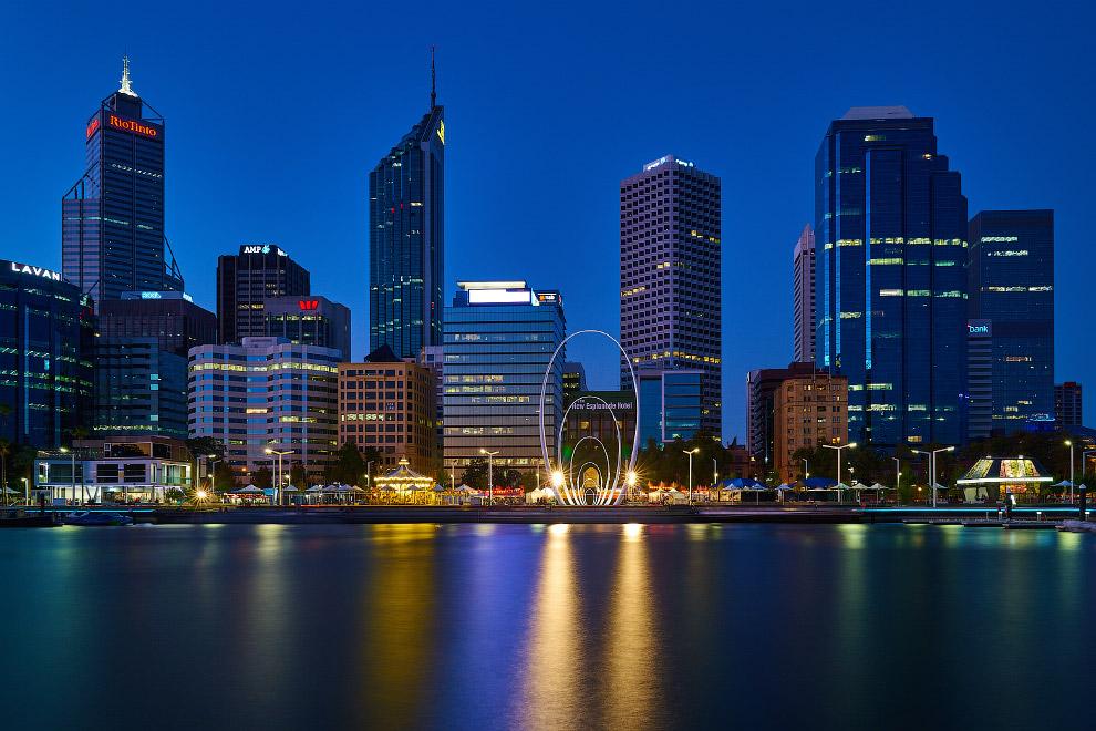 Перт называют «жемчужиной Австралии» . Старинные постройки, удобная пешеходная зона в центре Пе