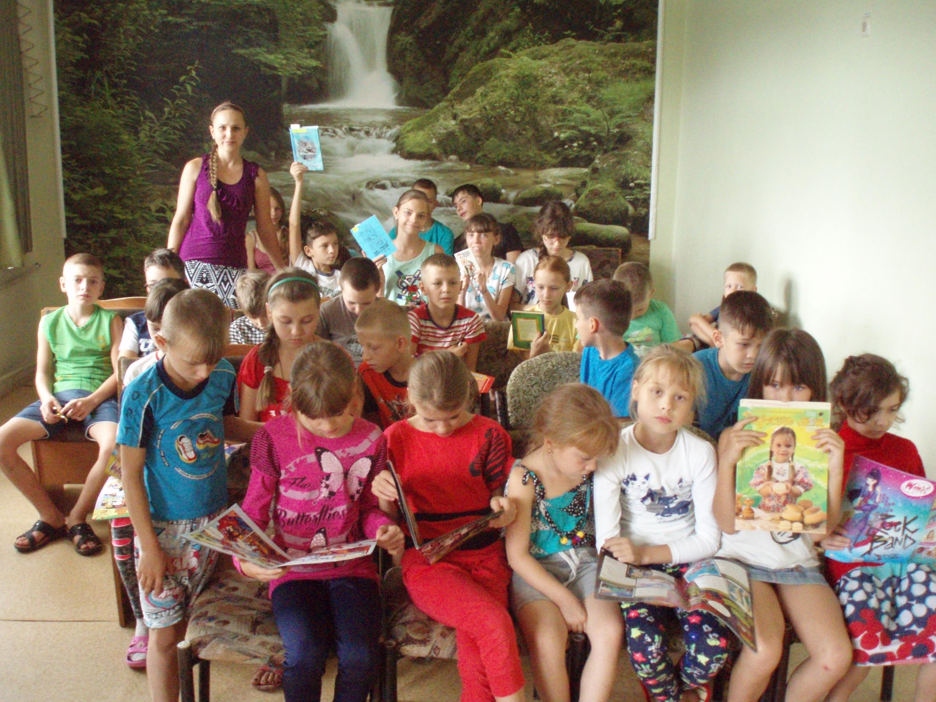 донецкая республиканская библиотека для детей, донецк, отдел обслуживания учащихся 5-9 классов, писатели донбасса