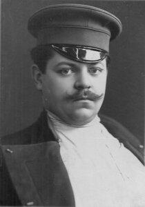 Портрет атлета и борца И.В.Лебедева (дяди Вани). 1912