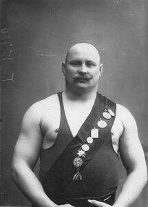 Участник чемпионата Разумов. 1912