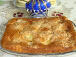 ..пирог с маскарпоне и..нектаринами...
