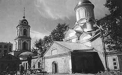 Фамильная усыпальница в Рождественском монастыре