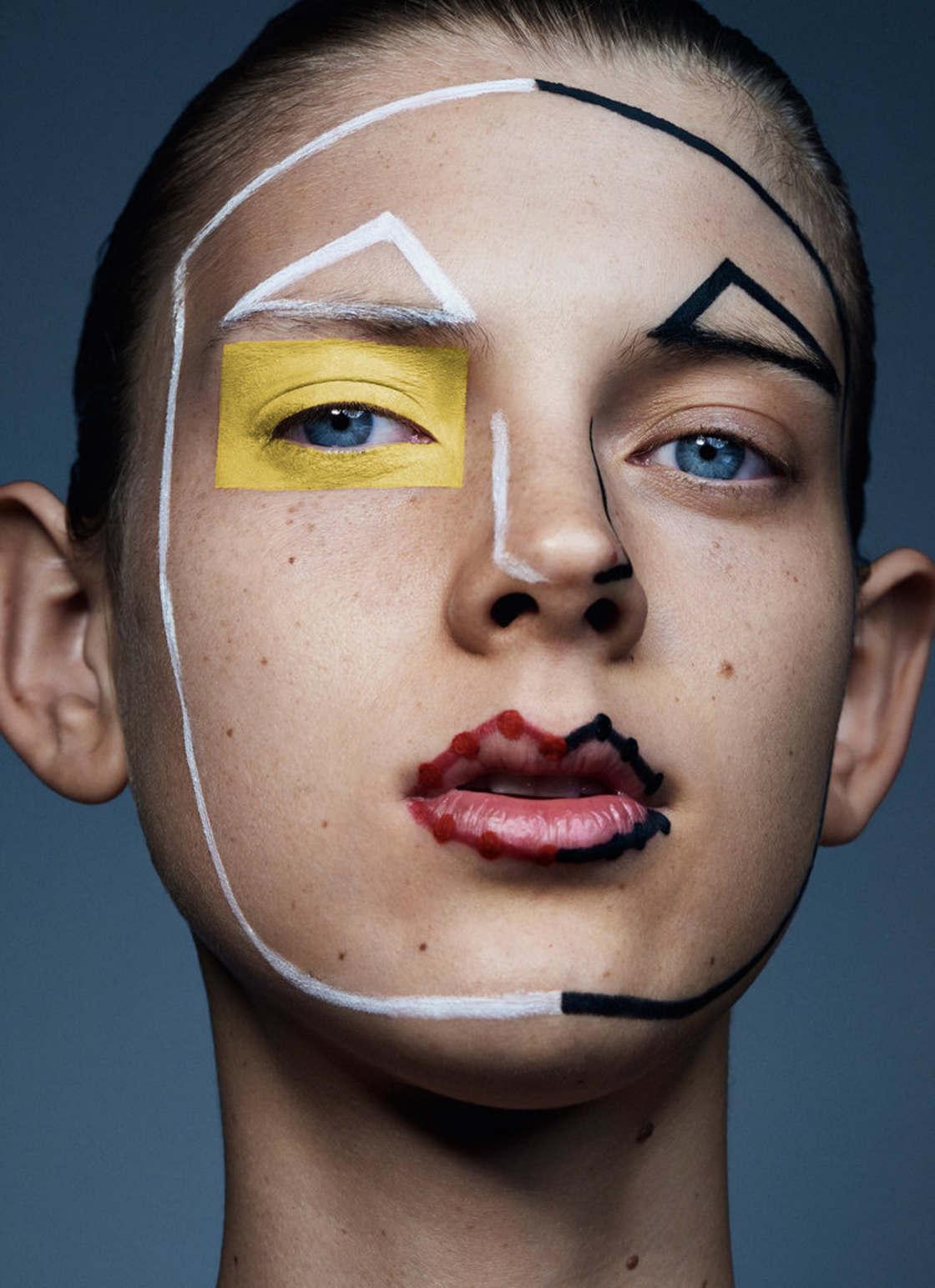Coordinates - The experimental makeups of Sharif Hamza
