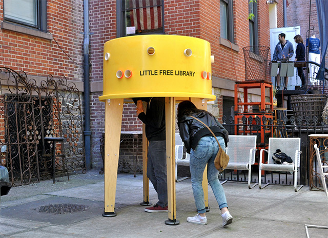 The Free Little Library by Stereotank