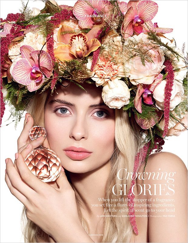 Margaux Alexandra in Crowning Glories for Harrods Magazine (14 pics)