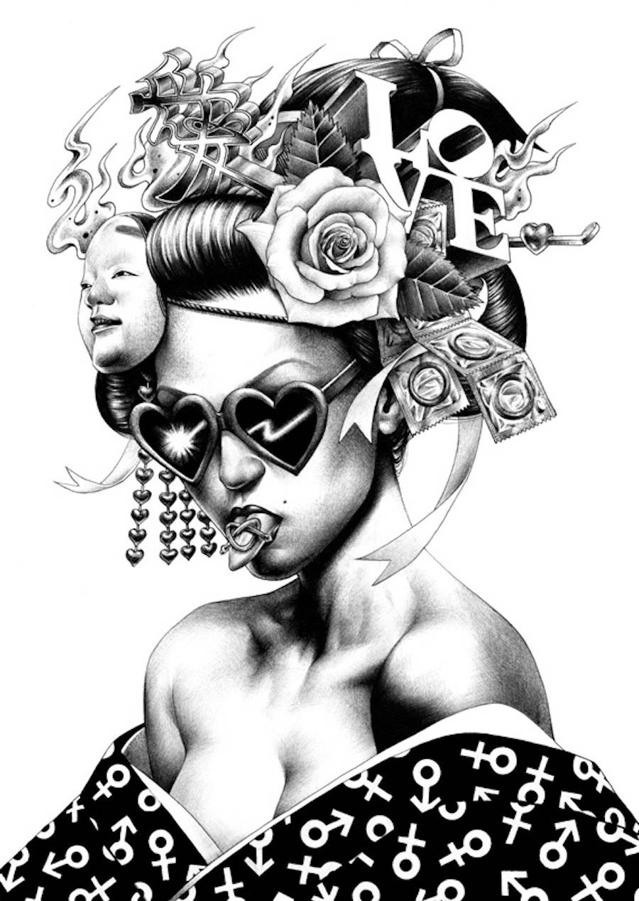 Dark & Photorealistic Drawings by Shohei Otomo
