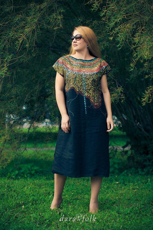 Одежда в этно стиле от Дарафолк.