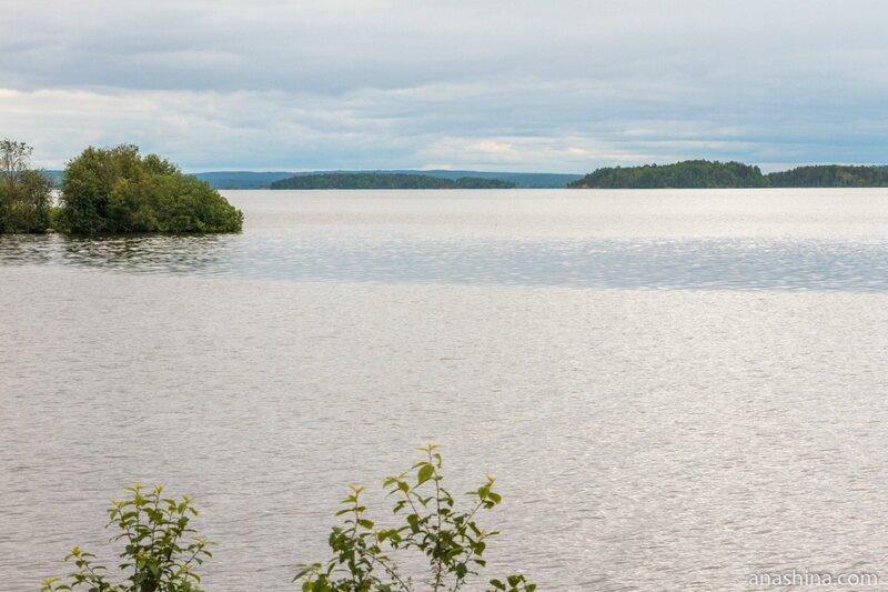 Кондопожская губа Онежского озера