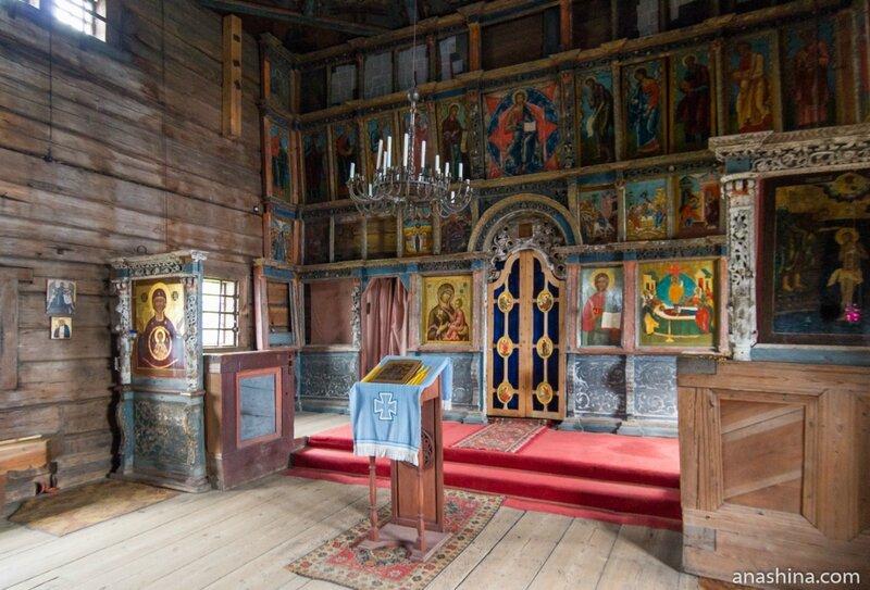 Внутреннее убранство Успенской церкви, Кондопога