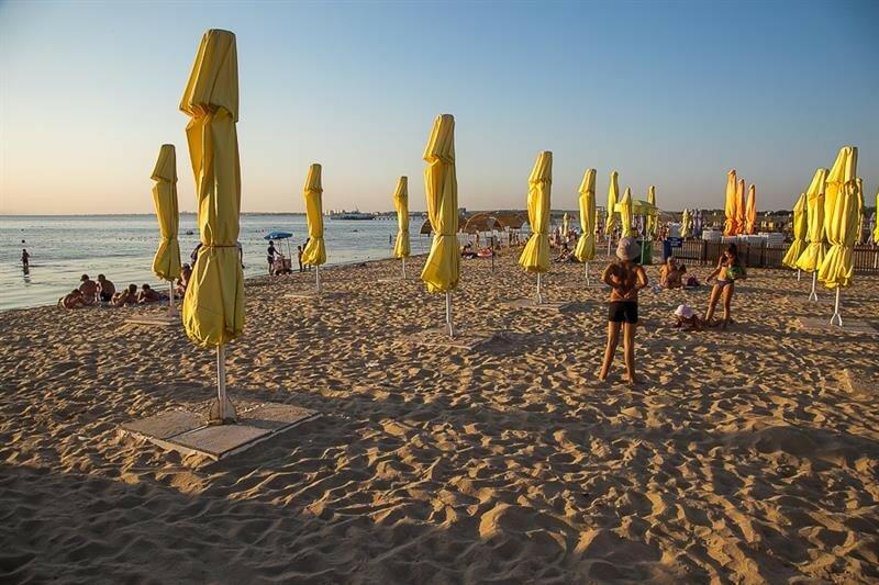 Лечебный пляж в Анапе