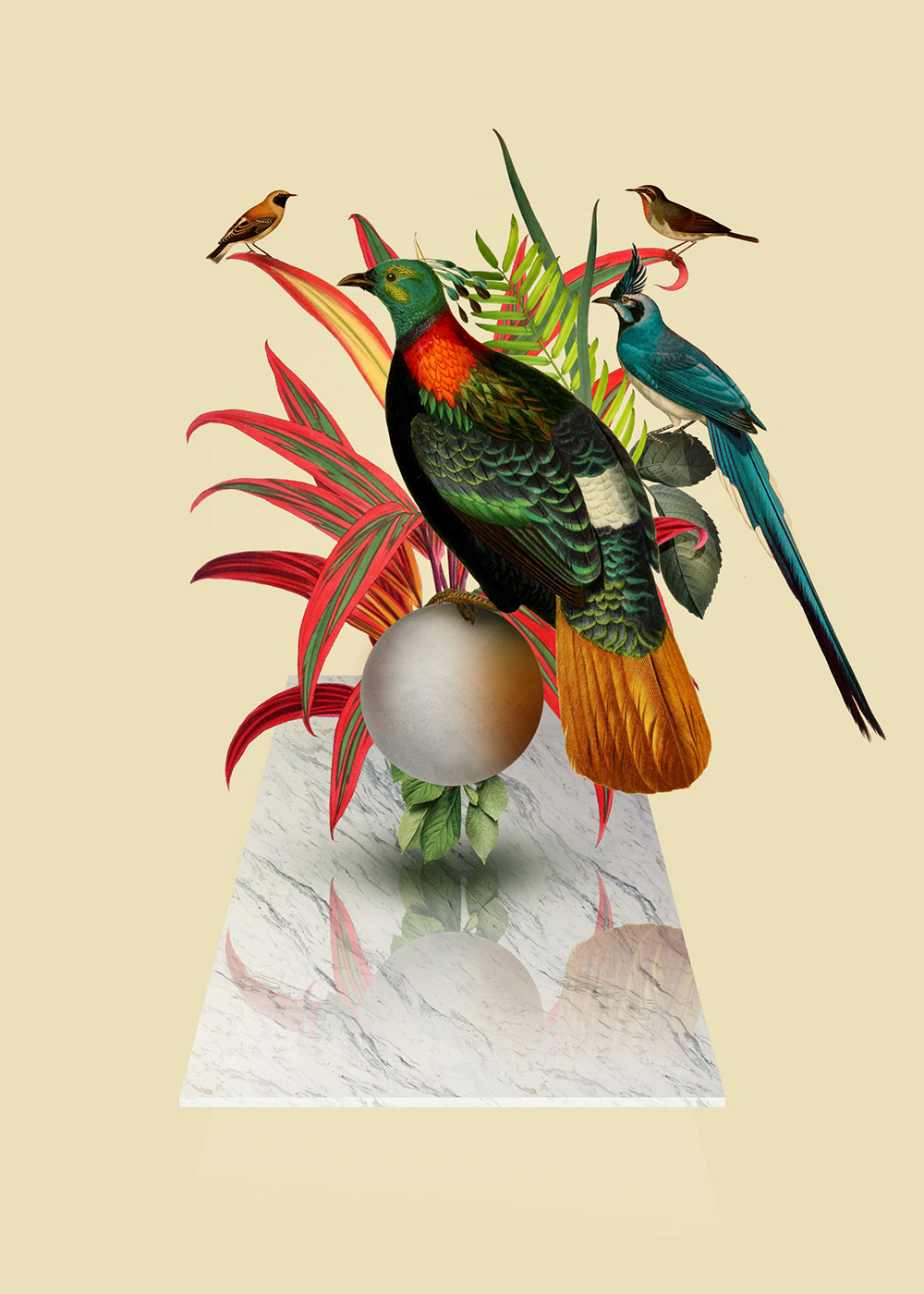Surreal Digital Collages by Orbeh