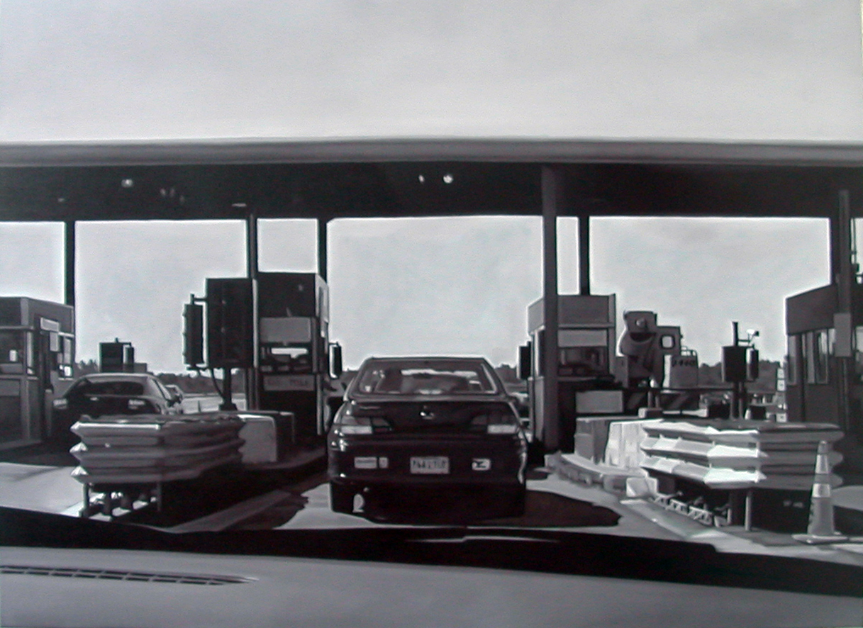 Hyper-Realistic B&W Oil Paintings - Matteo Mezzetta