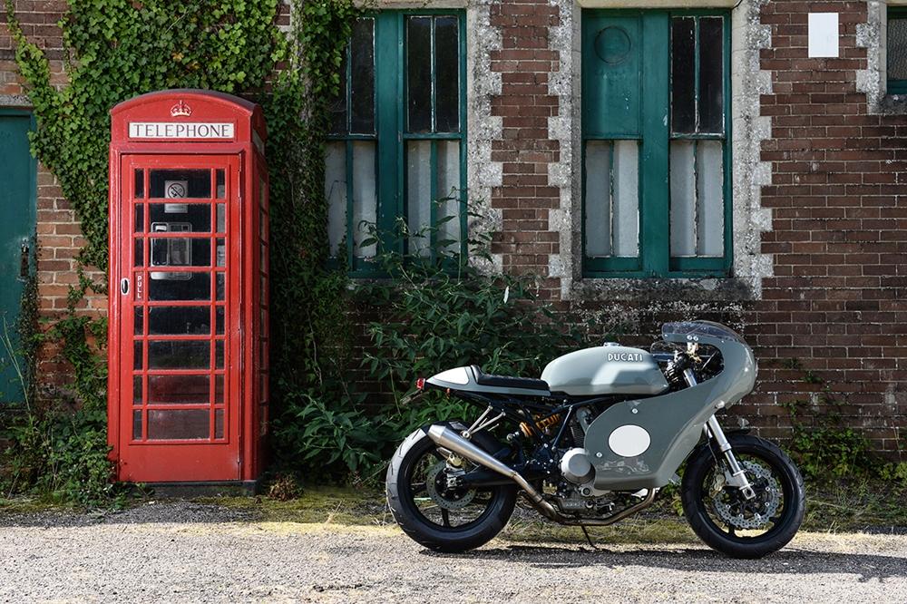 Redmax Speed Shop: Кафе рейсер Ducati 1000SS