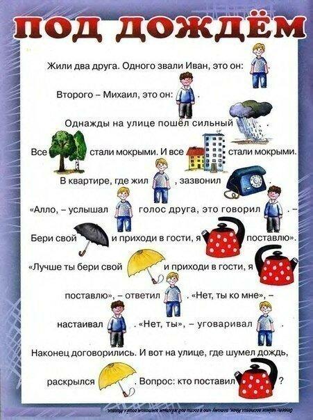Тексты с картинками