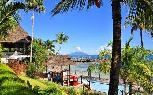 День в разгаре... Сейшельские острова. Маэ