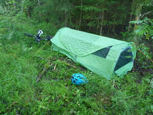 ночевка в палатке снаряжение аскет на tour unite 1000 км