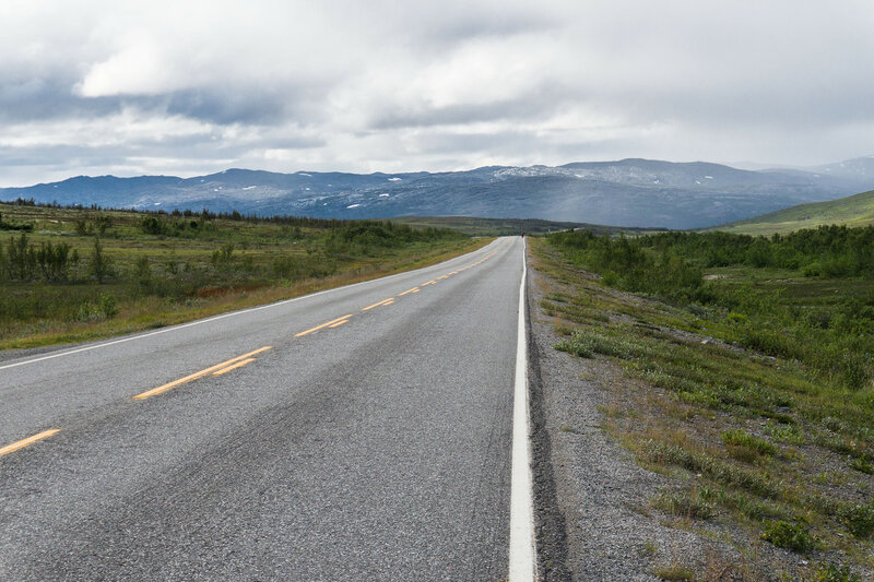 дорога E6 oldefjord - skaidi