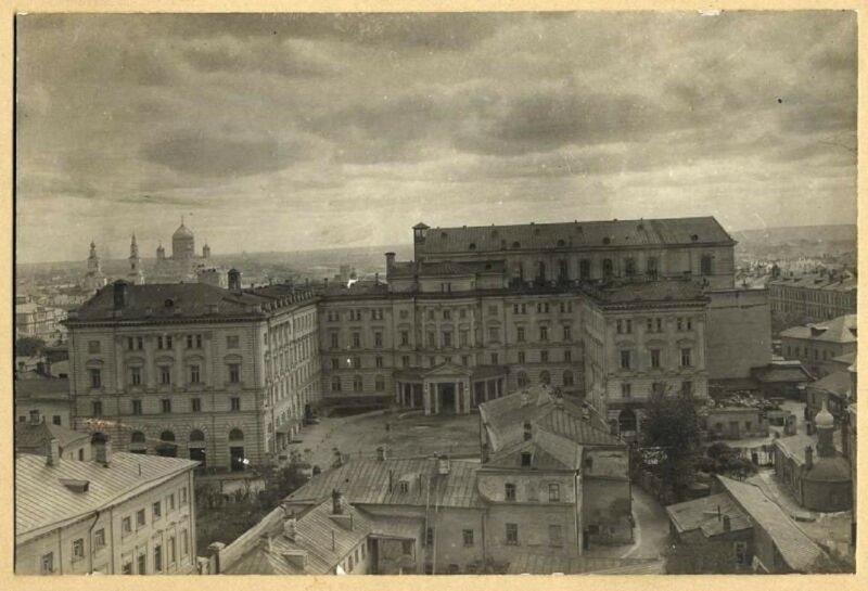 Консерватория. 1920-е годы