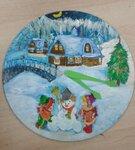 Голобокова Екатерина(рук. Барышева Наталья Николаевна) - Новогодние часы