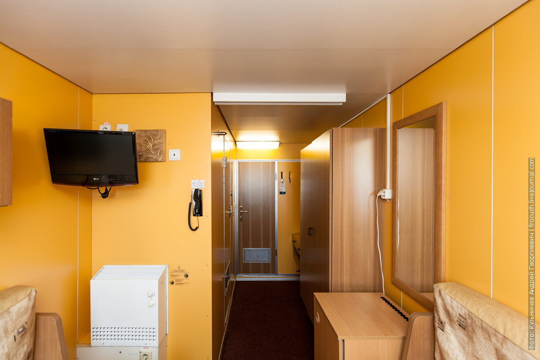 теплоход карамзин интерьеры двухместная каюта 427