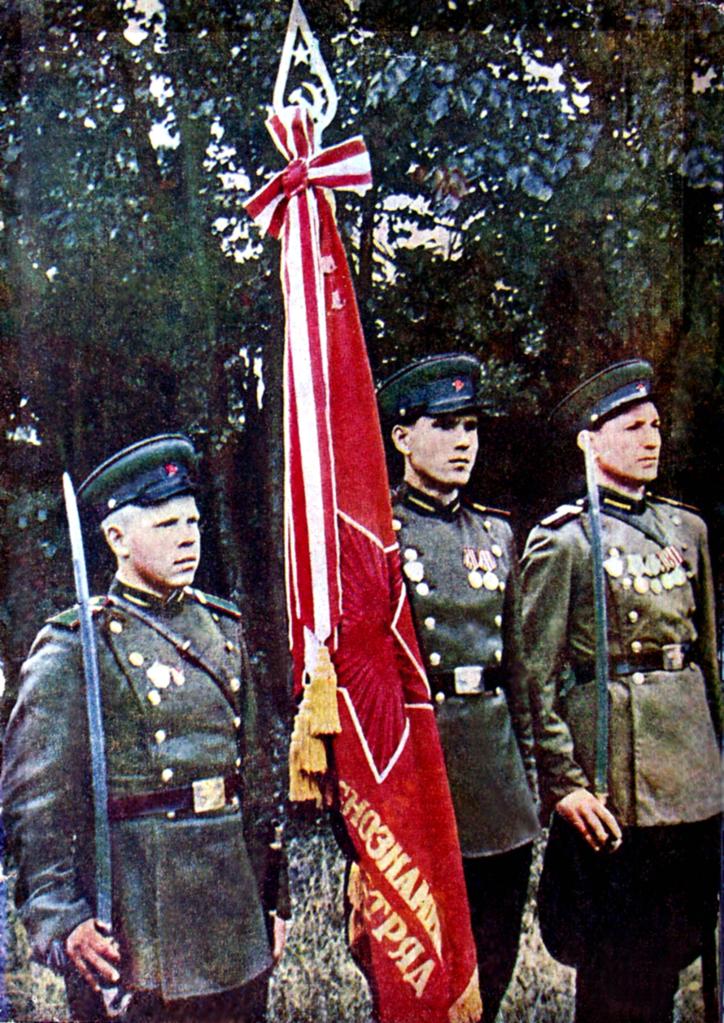 Пять сожительниц с немецкими офицерами. Погранвойска НКВД на зачистке. 20k9ny0.jpg