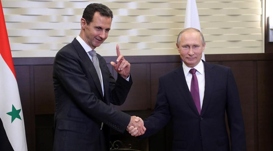 Владимир Путин объявил о скором завершении военной операции в Сирии