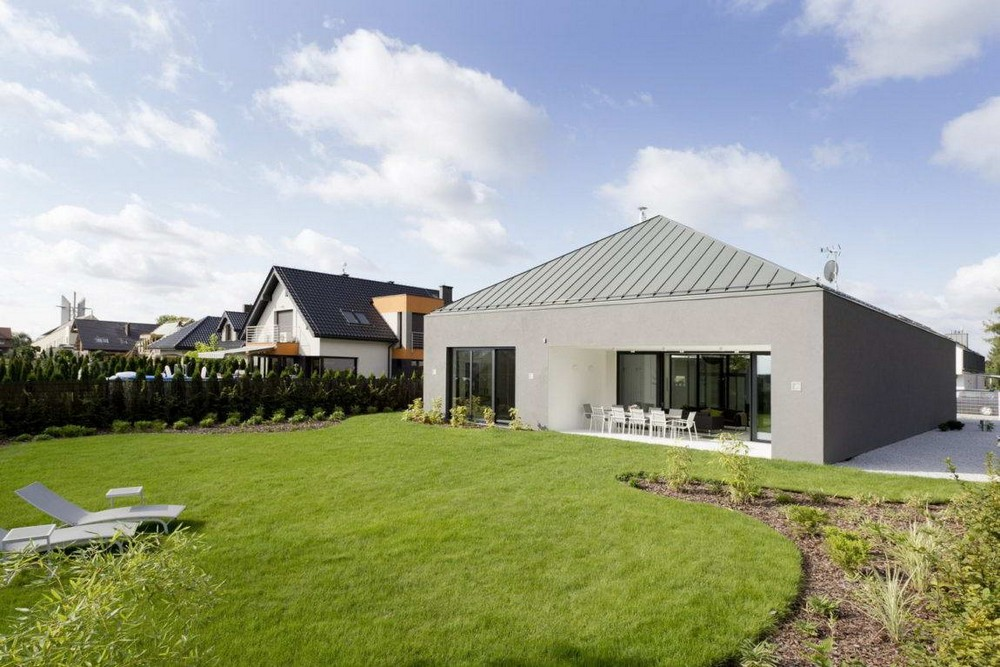 Modern country house in Poland