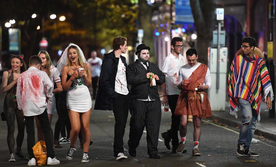 Как британцы Хэллоуин отметили