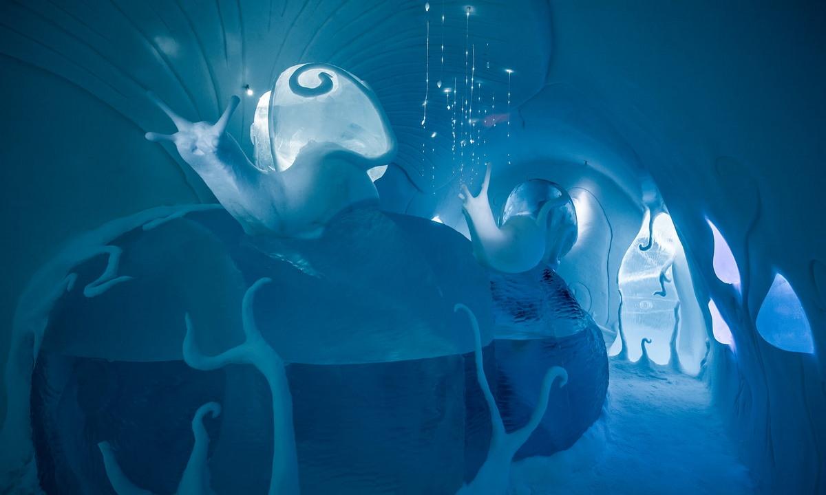 Зимний дворец: ледяной отель в Швеции открывает свои двери