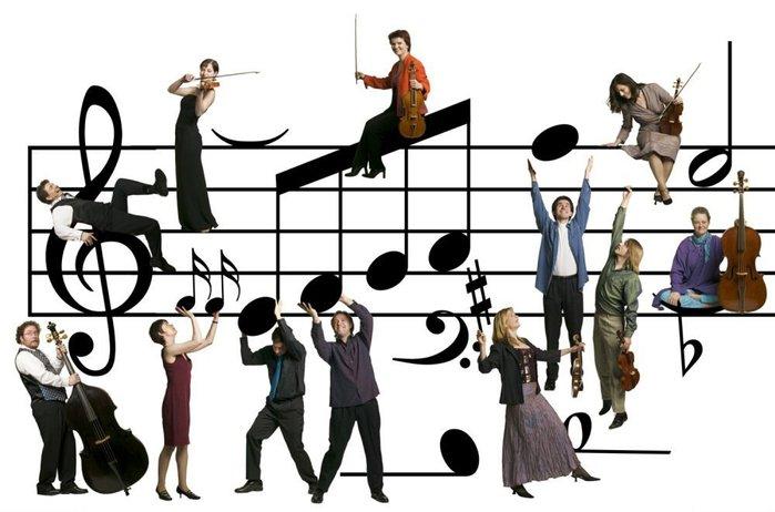 Открытка. 1 октября Международный день музыки! Мы живем здесь!