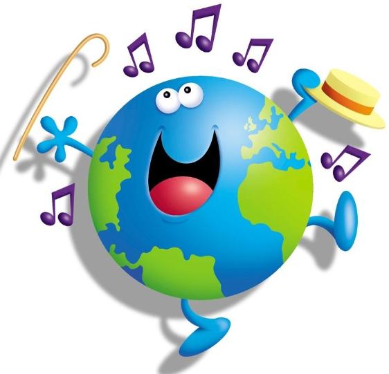 Открытки. 1 октября.  С Днем Музыки! Музыкальный мир.PNG открытки фото рисунки картинки поздравления