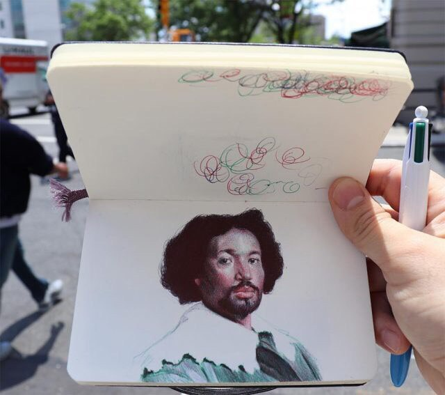 Шедевральные зарисовки от Nicolas V. Sanchez