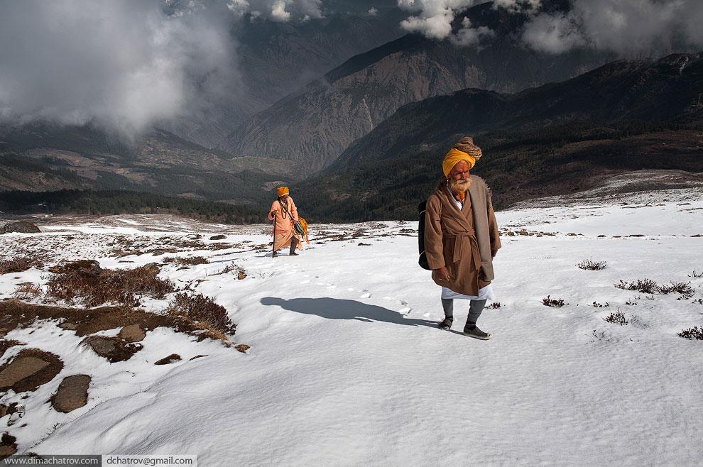 Вершины Эльбруса . Это стратовулкан на Кавказе и высочайшая вершина России: