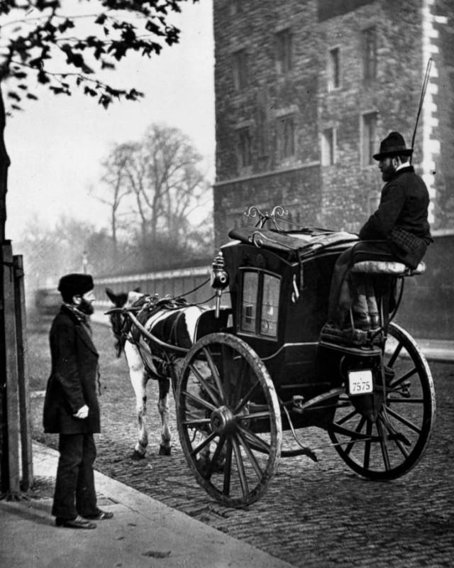 Двухколесное такси.