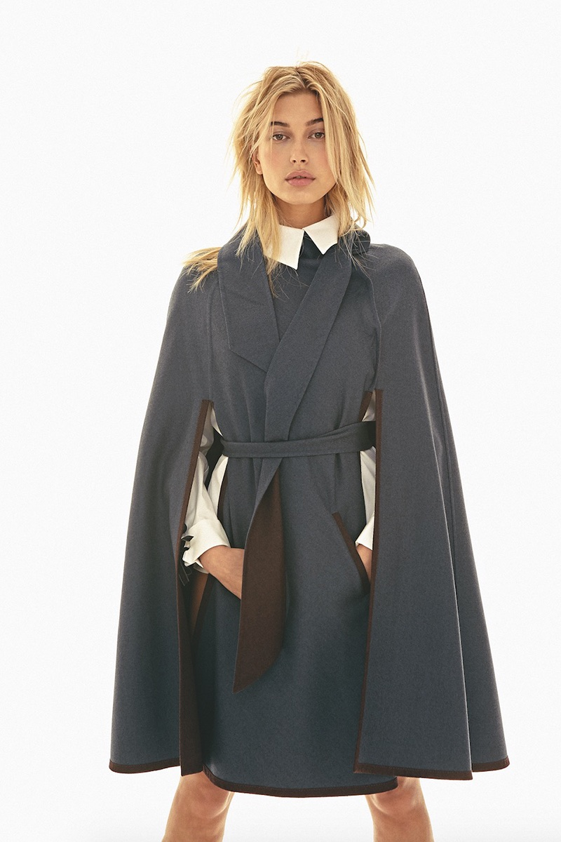 Хейли Болдуин для обложки S Moda