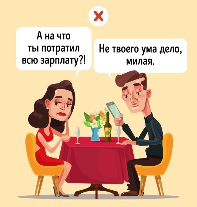 © depositphotos     Если вызаявляете партнеру: «Тебя некасается», «Нетвоего ума дело»,