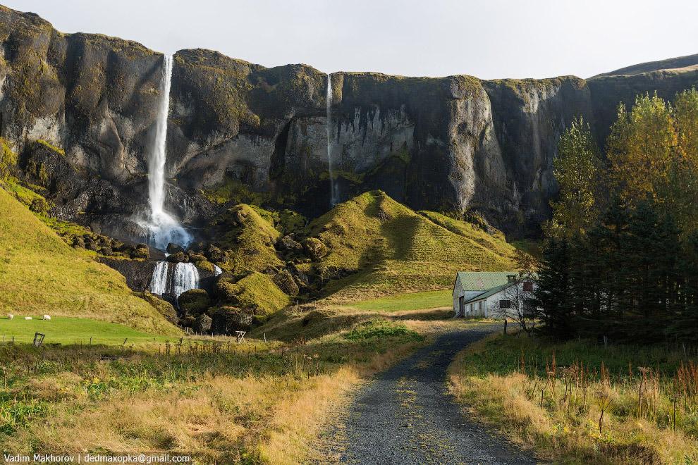 5. Находясь в Исландии, понимаешь, что всё вокруг вулканического происхождения. Плодородных почв поч